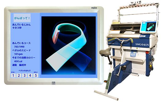 Experience-type WHOLEGARMENT computerized flat knitting machines